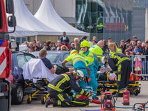 Dutch medical services in action Stock Photos