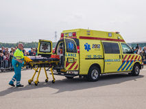 Dutch medical services in action Stock Image