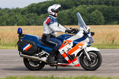Dutch Military Police Royalty Free Stock Photo