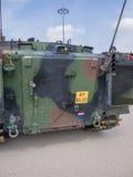 Dutch military vehicle Stock Image