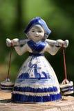 Dutch milk girl Royalty Free Stock Image