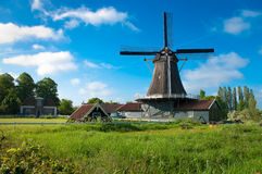 Dutch mill royalty free stock images