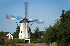 Dutch mill Royalty Free Stock Image
