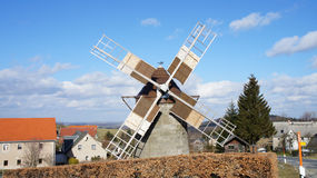 Dutch mill Stock Images