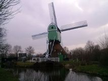 Dutch mill Stock Photo