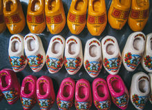 Dutch miniature clogs Stock Images