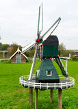 Dutch miniature windmill Stock Photography