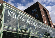 Dutch Ministry of Economic Affairs in the Hague Royalty Free Stock Photography