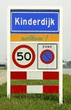 Dutch municipality sign Stock Photo