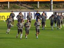 Dutch National Soccer Team Stock Images