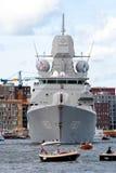Dutch Navy frigate Royalty Free Stock Image