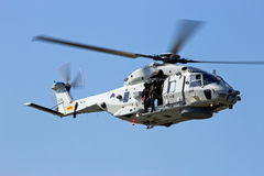 Dutch Navy NH90 helicopter Royalty Free Stock Image