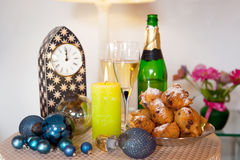 Dutch new years eve Stock Image