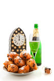 Dutch new years eve Royalty Free Stock Images