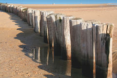 Dutch North Sea Coast. Part of the Dutch North Sea Coast near Cadzand Royalty Free Stock Photography