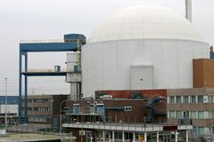 Dutch nuclear power plant Stock Image