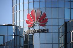 Dutch office of Chinese telecom equipment manufacturer Huawei on Voorburg the Netherlands. Dutch office of Chinese telecom equipment manufacturer Huawei on stock photography
