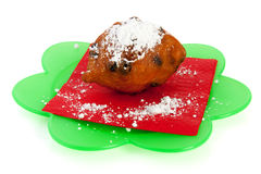 Dutch oliebol Royalty Free Stock Photos