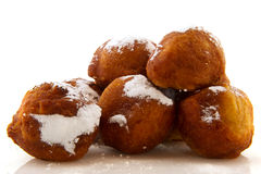 Dutch oliebollen Royalty Free Stock Photography