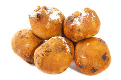 Dutch oliebollen Stock Image