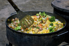 Dutch Oven Stew Stock Images