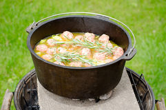 Dutch oven Royalty Free Stock Photography