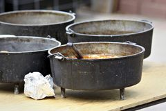 Dutch Ovens stock photo