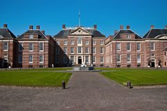 Dutch palace . Royal Palace Noordeinde in The Hague, Holland stock photos