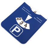 Dutch parking card Royalty Free Stock Photos