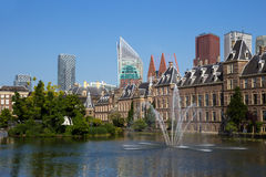 Dutch parlement building Den Haag Royalty Free Stock Images