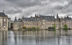Dutch Parliament Binnenhof Stock Photo