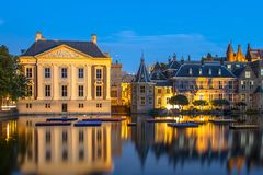 Parliament Binnenhof and Mauritshuis The Hague Stock Photography