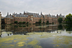 Dutch Parliament buildings. Binnenhof. Dutch Parliament buildings in The Hague Royalty Free Stock Image