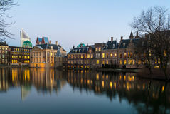 Dutch Parliament buildings in The Hague Stock Photography