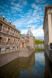 Dutch Parliament, Den Haag, Netherlands. The Binnenhof (Dutch, literally inner court), is a complex of buildings in The Hague. It has been the location of Stock Photography