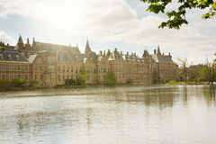 Dutch Parliament at morning, The Hague Royalty Free Stock Photo