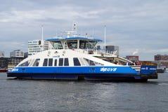 Dutch passenger ferry -  Amsterdam Stock Image