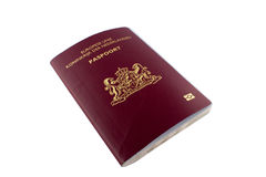 Dutch Passport Stock Photos