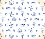 Dutch pattern Royalty Free Stock Images