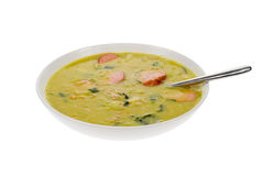 Dutch pea soup Royalty Free Stock Photo