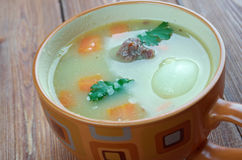 Dutch Pea Soup - Snert Foto de Stock