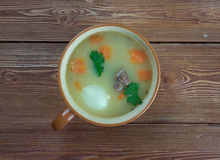 Dutch Pea Soup - Snert Fotografia de Stock