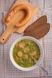 Dutch pea soup snert Stock Images