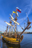 Dutch Pirate Ship Stock Photography
