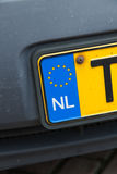 Dutch plate Stock Image