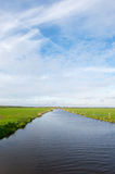Dutch polder Arkemheen Stock Image