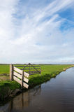 Dutch polder Arkemheen Royalty Free Stock Photography