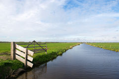 Dutch polder Arkemheen Royalty Free Stock Photos