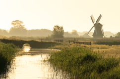 Dutch polder Stock Photo