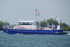 Dutch Police Boat P87 - DAMEN  Stan Patrol 2505 - watercraft Stock Images